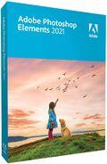 Adobe Photoshop Elements 2021 box