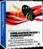 Macromedia Dreamweaver 3 Fireworks 3 Studio box.png