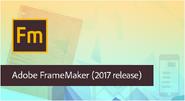 Adobe FrameMaker 2017 banner