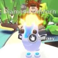 Neon Diamond Unicorn