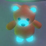 Mega Neon Brown Bear