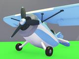 Racing Monoplane