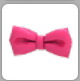 Pink bowtie in inv