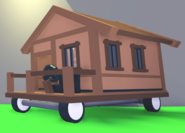 Travelling House In Game