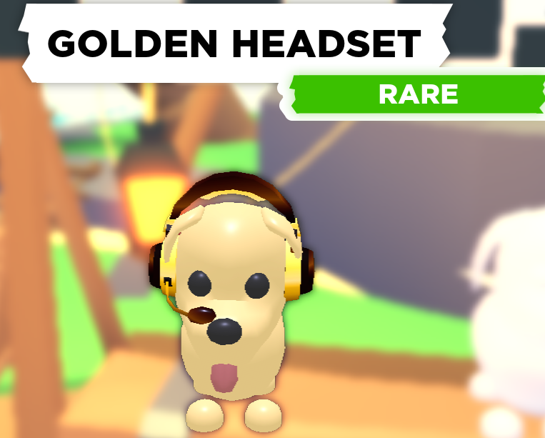 Golden Headset
