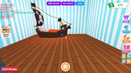 Pirate Ship's Bedroom