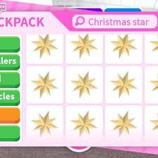 Christmas Star Frisbee
