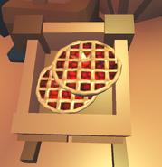 R pie in shop