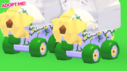 Plant Powered Roller Skates in-game