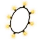 Eco Lightbulb necklace