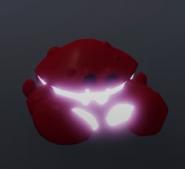 A neon crab