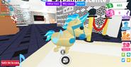Unicornio dorado