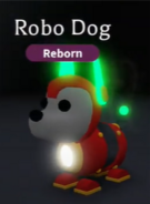 Neon Robo Dog