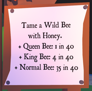 Chances of Taming a Bee with Honey Board
