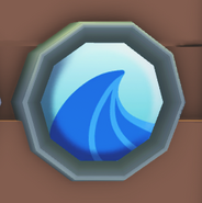 Wave Badge on the board