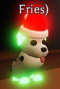 Neon Dalmatian