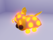 Neon Golden Ladybug (Night)