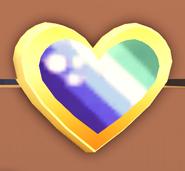 Gay man pride pin