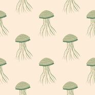 Pastel-seamless-pattern-with-jellyfish-doodle-silhouettes-stylized-underwater-animals-pale-tones 97843-1167