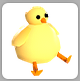 Chick hat in invvv