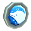 Dolphin Badge