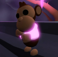 Neon Business Monkey
