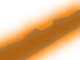 Orange Neon Snowboard