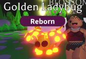 Neon Golden Ladybug