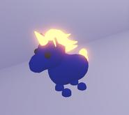 Neon Diamond Unicorn (Night)