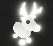 Neon Arctic Reindeer