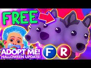 How To Get FREE LEGENDARY CERBERUS PET in Adopt Me! Roblox Halloween FLY RIDE CERBERUS Giveaway FREE