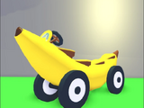 Plátano coche