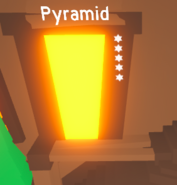 The Pyramid Obby in the Obby building