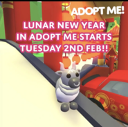 Post Announcing Lunar New Year Event 2021
