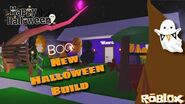 Halloween Build Adopt Me Family Home Roblox