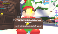 Advent Calendar has ended