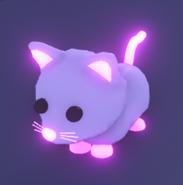 Neon Snow Cat