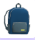The Blue Backpack as seen in a players inventory