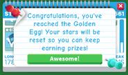 Star Rewards reset notification