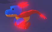 Neon Deinonychus