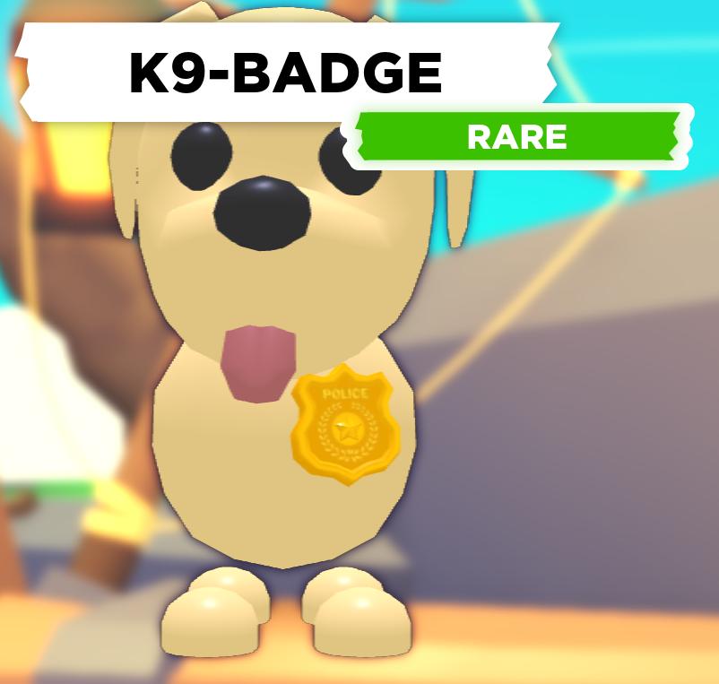 K9-Badge