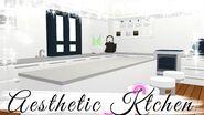 Aesthetic Adopt Me futuristic house SPEEDBUILD Pt 2- Kitchen