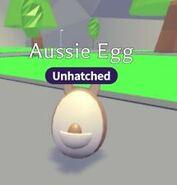 Aussie Egg in-game