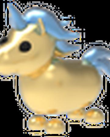 Golden Unicorn Adopt Me Wiki Fandom