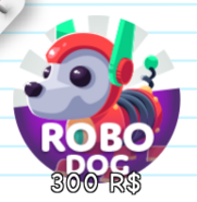 The Robo Dog Gamepass cover during the Cyber Sale