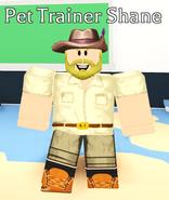 Pet Trainer Shane NPC