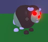 Neon Zombie Buffalo
