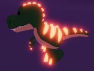 A Neon T-Rex