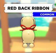 Red Back Ribbon