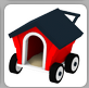 Doghouse stroller in inv